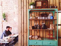 Image result for oma bistro barcelona Liquor Cabinet, Barcelona, Storage, Image, Furniture, Ideas, Home Decor, Purse Storage, Decoration Home