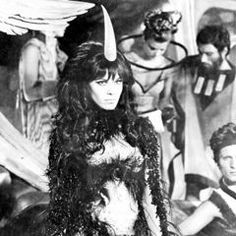 Anita Pallenberg as The Black Queen