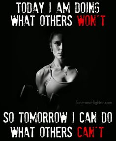 Fitness Motivation – Do what others won't so tomorrow you can do what others can't Crossfit Motivation, Fitness Motivation Quotes, Motivation Inspiration, Fitness Inspiration, Running Quotes, Gym Humor, I Work Out, Weight Loss Plans, Weight Lifting