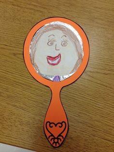 First Grade Sugar: Mirror Mirror on the Wall Mirror Crafts, Door Crafts, Back To School Bulletin Boards, Preschool Bulletin Boards, Preschool Arts And Crafts, Crafts For Kids, Infant Activities, Activities For Kids, Solar System For Kids