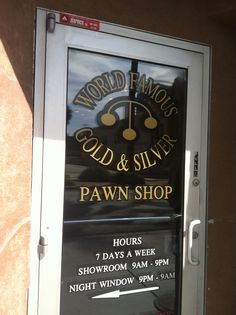 Gold and Silver Pawn Shop in Las Vegas, Nevada