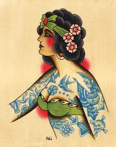 Old School Tattoo Flash | KYSA #ink #design #tattoo