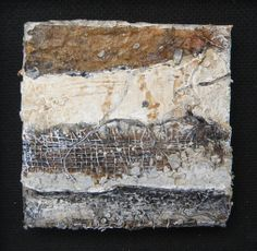 mixed media mini  10 x 10 cm