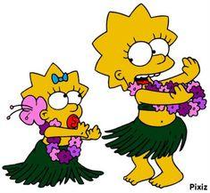 Photo montage simpson maggie et Lisa. Simpsons Tattoo, Simpsons Drawings, Cartoon Drawings, Lisa Simpson, Simpson Maggie, Baby Disney Characters, Simpsons Characters, Simpsons Funny, Simpsons Art