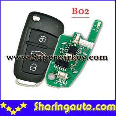Free shipping B02 Audi A6L Style Remote For KD100(KD200) Machine (1piece)