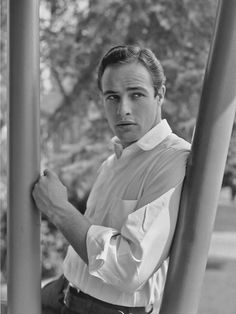 Seriously though, THAT STARE.   19 Reasons Young Marlon Brando Will Ruin You For The Rest Of The Day