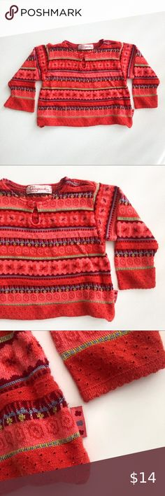 Clayeux Cotton Blend Lightweight Sweater 18m Beautiful cotton-blend knit by Clayeux. Lightweight feel, keyhole neck detail, and made in France. Size 18m. Clayeux Shirts & Tops Sweaters Baby Sweaters, Wool Sweaters, Cotton Skirt, Cotton Tee, Britney Jean, Swing Coats, Lace Collar, Striped Knit, Kids Shirts