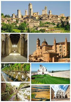 7 UNESCO World Heritage Sites in Central Italy