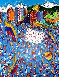 #LaCalleSeRecalienta #ArteBortot #ExpoArtistas #GaleríaBortot