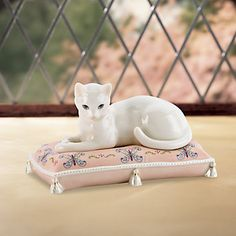 Serena Cat Figurine by Lenox from Lenox