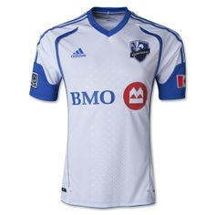 2dc54cafe adidas Montreal Impact 2014 Authentic Secondary Soccer Jersey