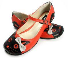 Sapatilha Kitty - ZPZ SHOES Crazy Cat Lady, Crazy Cats, Zpz Shoes, Flat Twist, Pretty Cats, Footwear, Kitty, Plus Size, Woman Shoes