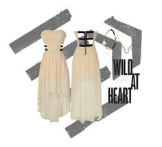 """""""Wild At Heart"""" by lilyboutique on Polyvore featuring blackandnude, openback and LilyBoutique"""