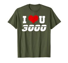 Dad I Love You 3000 Endgame Superhero Father/'s Day Gift Idea Pop Culture T-Shirt