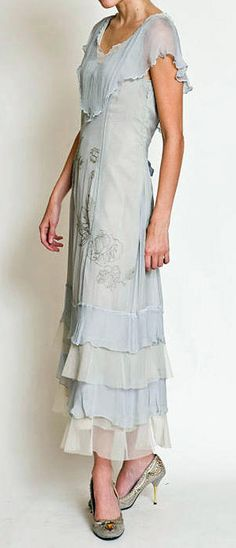 1920 Vintage Dresses Plus Size | ... Dresses Vintage Inspired Titanic Dress, Victorian, 1920s, Wedding