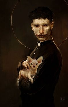 The restless intelligent dead. Looks similar to a Vampire, true; but I find this picture to be a good representation of the Nephandus. Character Inspiration, Character Art, Character Portraits, Vampire Masquerade, Vampire Art, Gothic Vampire, Arte Obscura, Arte Horror, Creepy Art
