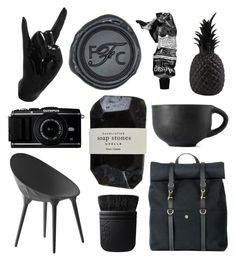 """""""B20-038"""" by backtozeroco ❤ liked on Polyvore featuring art and black"""