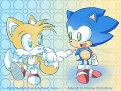 sonic n tails ^-^
