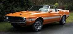 1969 Ford Mustang Shelby GT-350 Convertible