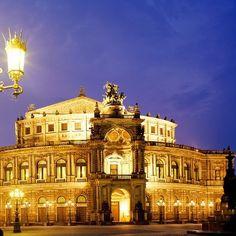 Semper Opera, Dresden, Germany