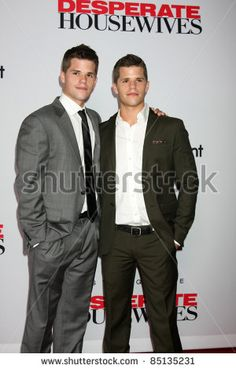 Max and Charles Carver - Super cute Scavo twins in Desperate Housewives!