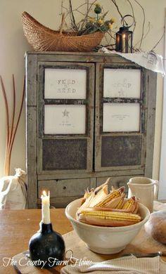 The Country Farm Home: A Single Lantern, A Single Candle