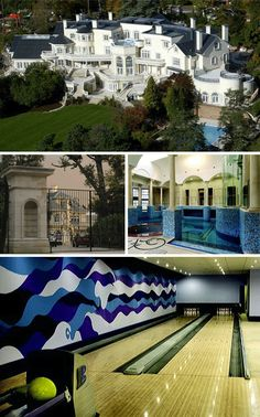 Uptown Court. largest private residence in England. Located in surrey It has 103 rooms. worth 70 million dollars