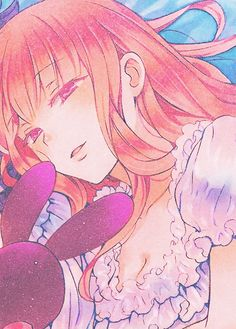 Pandora Hearts-Character colors: Sharon Rainsworth (Magenta)