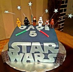 Too Sweeties Bake Shoppe... Lego Star Wars Cake