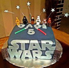 Too Sweeties Bake Shoppe... Lego Star Wars Cake