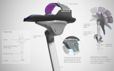 Walking Assistant May Replace  Crutches /  Concept proposed Dyson Award takes a whole new approach.