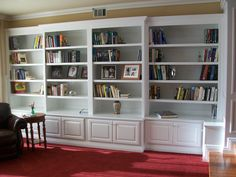 basement idea shelving units