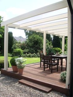 Outdoor Rooms, Outdoor Living, Garden Arch Trellis, Modern Bungalow House, Screened In Deck, Covered Walkway, Garden Yard Ideas, Patio Roof, Backyard Landscaping