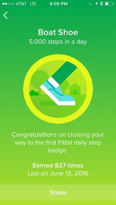 Fitbit badges make walking fun. Badges mark milestones like daily steps and total steps walked. See every Fitbit badge available here with large pictures. Fitbit Badges, Fitbit App, Health And Fitness Tips, Health And Beauty, Fitness Quotes, Fitness Motivation, 10000 Steps, Walking Exercise, Weight Loss Journey