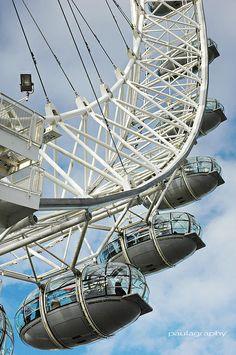 London Eye London Eye, Ferris Wheel, Sci Fi, Fair Grounds, United Kingdom, Science Fiction
