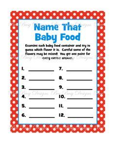 free dr seuss baby shower printables - Google Search
