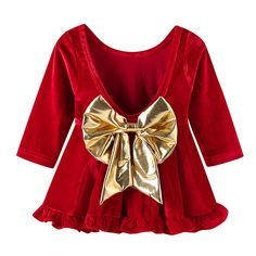 b8718311d3cd0 Christmas Baby girl clothes Princess Dress Clothes Long Sleeve A Line Tutu  Party Dress Toddler Kids Fancy Dress. KisKissing