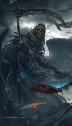 ArtStation - Grim reaper, Lee Kent