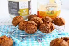 Coconut Honey Spelt Cookies