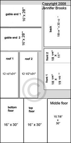doll house plan                                                       …
