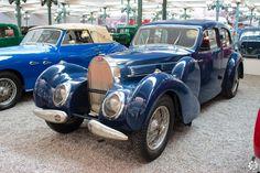 Bugatti Type57C Galibier exposée à la Cité de l'Automobile, Collection…