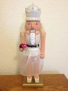 CLICK HERE TO PURCHASE from CustomNutcrackers.com. Get this unique Bride…