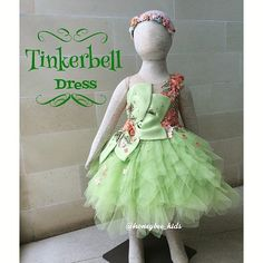 Baby Clothes Girl Dresses Robes Ideas For 2019 Frocks For Girls, Little Girl Dresses, Girls Dresses, Baby Girl Dress Patterns, Baby Dress, Moda Peru, Tinkerbell Dress, Kids Blouse Designs, Kids Gown