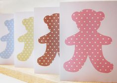 teddy bear invitations - free template download