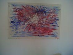 """""""Explosion"""" - Bastidor 120x80 - Acrilicos - Año 2004"""