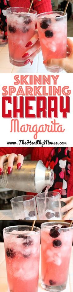 Enjoy this low-carb, refreshing take on a cherry margarita! Hola! #margarita #cherry Follow @ashersocrates for more summer trending cocktails.