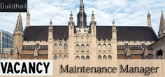 Jobs in Guildhall as Maintenance Manager in Doha, Qatar Visit jobsingcc.com for more info @ http://jobsingcc.com/jobs-guildhall-maintenance-manager/