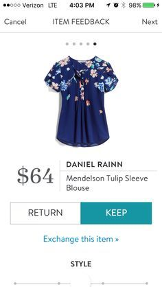 This would be a nice back-to-school style top. Pretty floral pattern and it has sleeves!!! https://www.stitchfix.com/referral/10587510?sod=w&som=c&str=18704