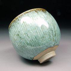 Ash Tenmoku and Nuka Matcha CHAWAN Teabowl TEA by shyrabbit, $135.00