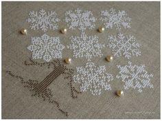 Cross Stitch, Noel ornament, view 2